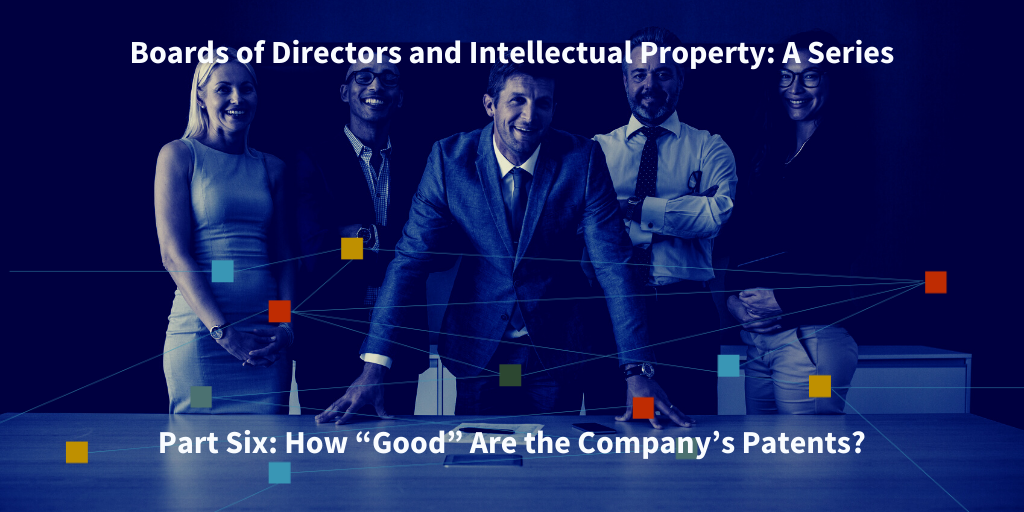 boards of directors and intellectual propertyds of directors and intellectual property