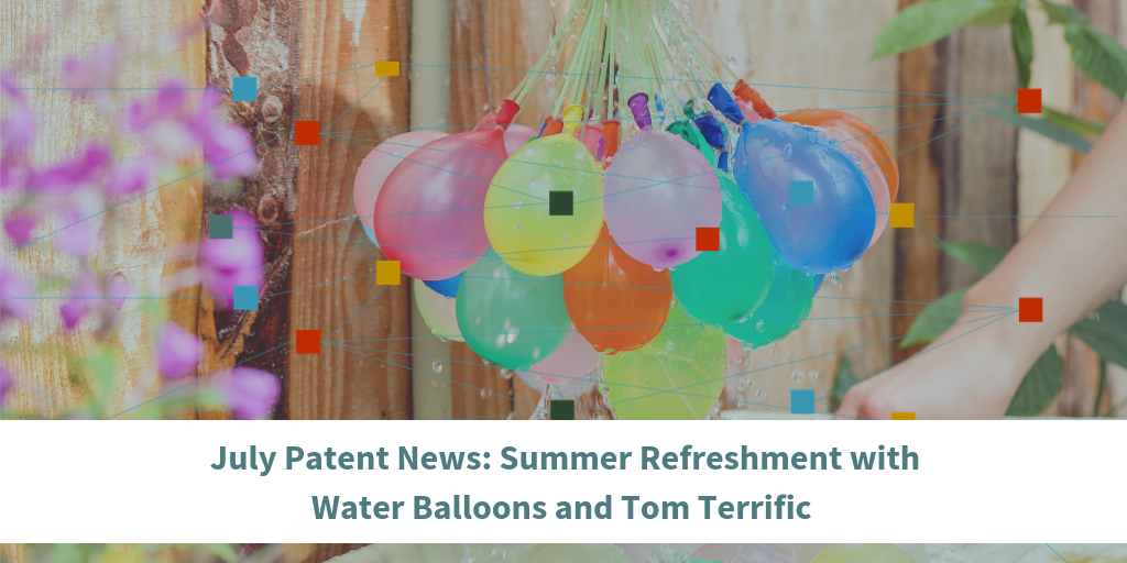 July Patent News