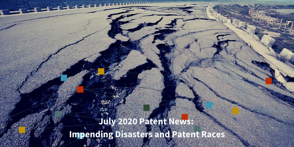 July 2020 Patent News