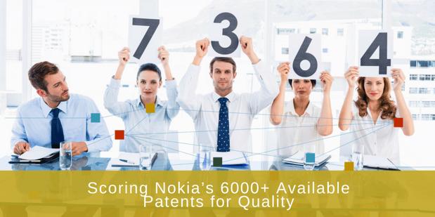 scoring patents